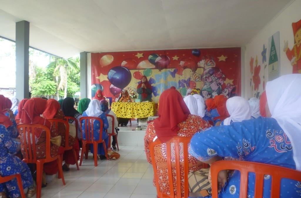 Guru PAUDIT Al Hasanah Studi Banding Ke TK Telkom Padang