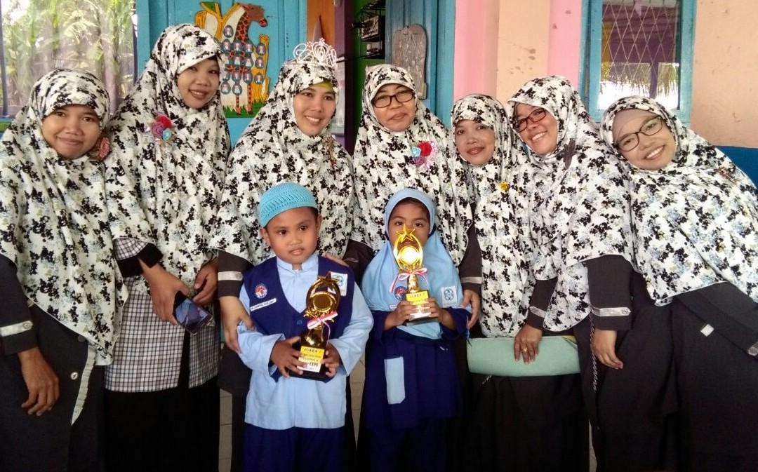 PAUD IT Al Hasanah Borong Juara Tahfidz Tingkat Kota