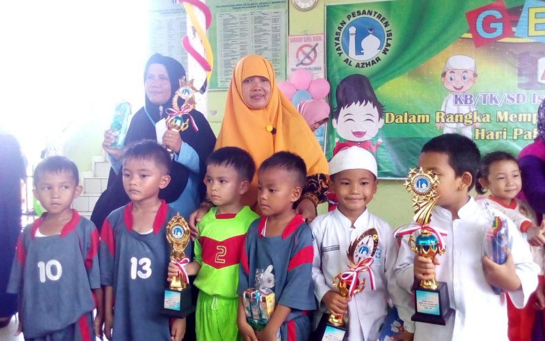 Mantap, PAUD IT Al Hasanah Borong Prestasi di Tingkat Kota Bengkulu