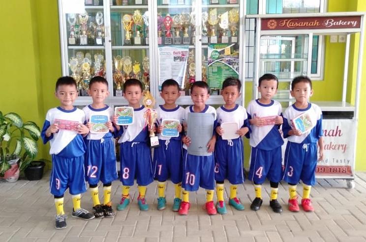 Tim PAUD IT Al Hasanah Juara 3 Futsal se Kota Bengkulu