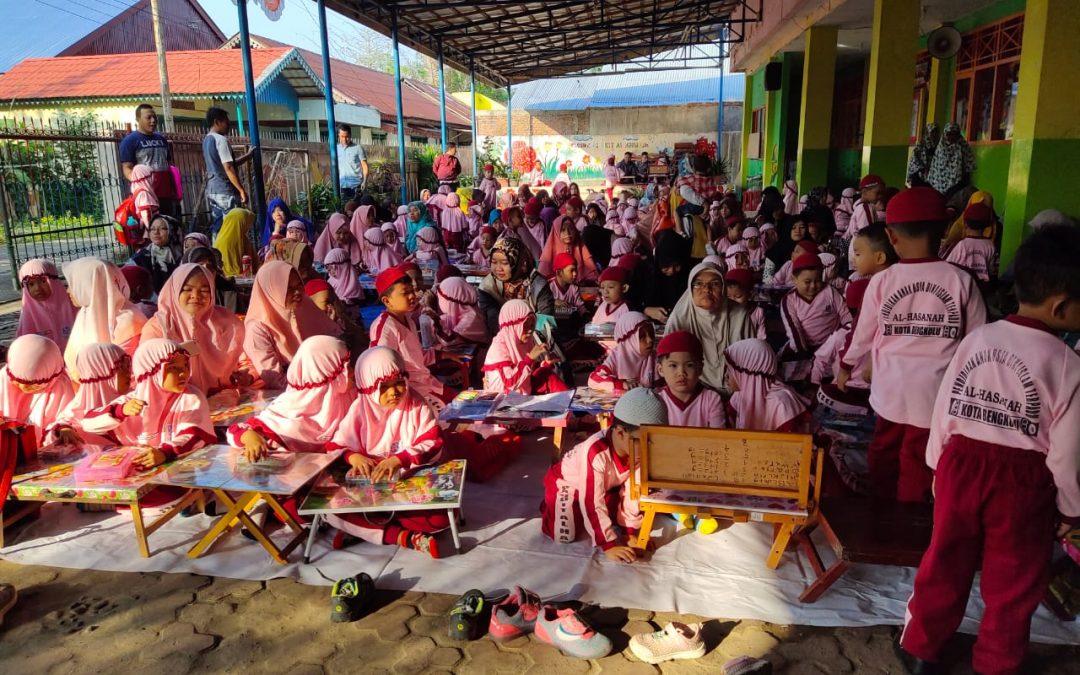 Sambut Milad Al Hasanah dan Tahun Baru Islam, PAUD IT Al Hasanah Adakan Lomba dan Pasar Murah