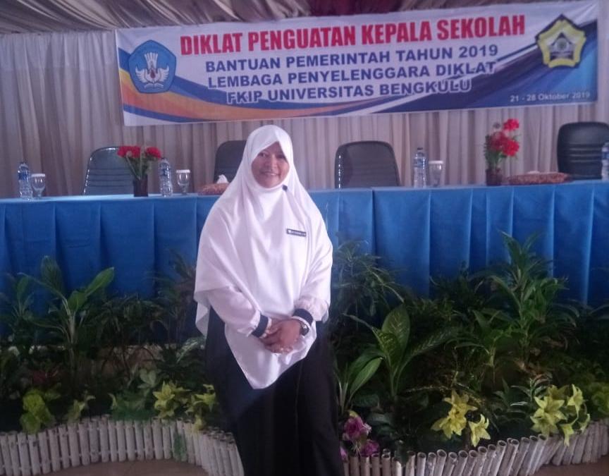 Kepala PAUD IT Al Hasanah Ikuti Diklat Penguatan Kepala Sekolah Tahun 2019