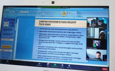 "Online Training ""Menjadi Orangtua Kreatif Untuk Anak Usia Dini Selama Pandemi Covid 19"""