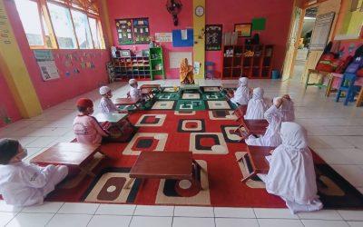 Melalui Isra' Mi'raj, Perkuat Ibadah Anak PAUD IT Al Hasanah