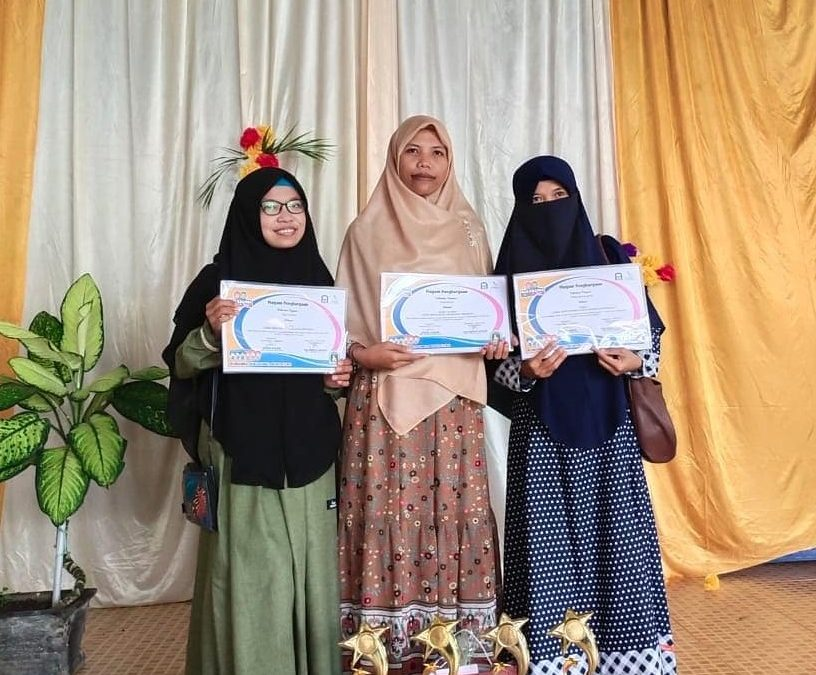 Guru PAUD IT Al Hasanah 1 Juara Lomba Video Pembelajaran se Kota Bengkulu
